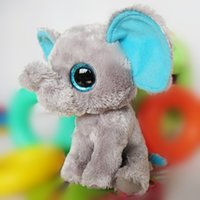 beanie babies bears lot - Ty beanie boos series big eyes cm decoration the elephant toy for babies