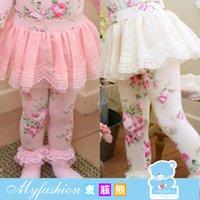 Wholesale Children s clothing autumn Korean version girls printed cotton culottes
