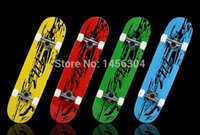 Wholesale new Double rocker Skateboard Colorful Complete Canadian Maple professional adult sports skateboarding