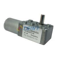 Wholesale V RPM DC Gear Motor Micro DC Gear Box Motor Electric geared worm motor