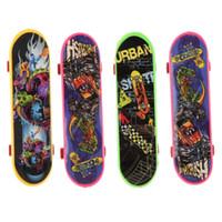 Wholesale 4PCS Finger Board Truck Mini Skateboard Toy Boy Kids Children Gif
