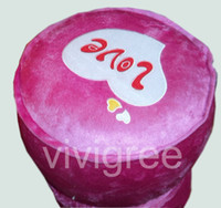 Wholesale 2014 Promotion New design inflatable stool Cute head portrait gift baby inlatable stool can be folding