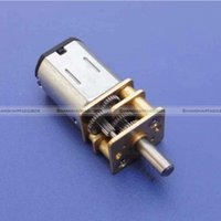 Wholesale ShanghaiMagicBox DC V RPM Mini Metal Gear Motor with Gearwheel Model N20 mm Shaft Diameter A2