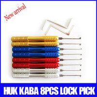 Wholesale New arrival huk locksmith tools dimple lock picks kaba lock picks professional locksmith supplies made in China
