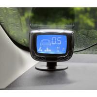 beep car - 2pcs Waterproof Beep Alert Rear View Car Parking Sensors Reverse Backup Radar Kit System with Display Monitor CAL_216