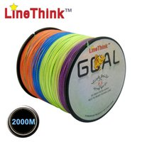 best goals - 2000M LineThink Brand GOAL Best Quality Multifilament PE Braided Fishing Line Fishing Braid