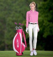 Wholesale Fashion Fabric soft and comfortable female golf shirt