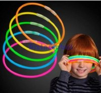 Wholesale Glowsticks Light Stick Necklaces Colorful Bright glowstick for party LED Necklace For people