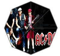acdc gifts - popular band in s ACDC Foldable Umbrellas Suprised Gift For lover friend