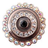 african owls - D00270 newest noosa owl rivca chunk button for bracelet jewelry noosa chunk