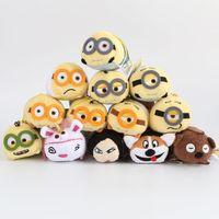 animal screen cleaners - TSUM TSUM Toys tsum Minions Anime Despicable Me Minions plush doll Mobile Screen Cleaner Plush Toys For Mobile Phone or Ipad size cm