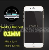 arc iphone - Iphone Plus Iphone S Plus Iphone S MM Tempered Glass Screen Protectors H D Arc Explosion Proof Thinnest Glass