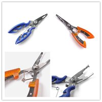 fishing tackle lures - Vintage Fish Pliers Fishing Multifunctional Plier Stainles Steel Carp Fishing Accessories Fish Tackle Lure Hook Remover Line Cutter Scisso