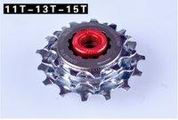Cheap Folding bike bicycle freewheel external 3 speed freewheel 11T 13T 15T bmx freewheel BYA412