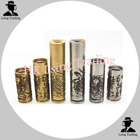 Cheap Turtle Ship V3 Mod Kits 1:1 Clone Brass SS Mechanical Mod Turtleship V3 Mod Fit 18350 18500 18650 VS Stingray X Vapelife SMPL Jesus MODS