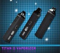 Cheap Titan 2 Titan II vaporizers dry herb vaporizer HEBE for dry herbal e electronic cigarettes wholesale vs g-pen atomizer