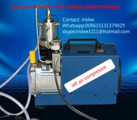 Wholesale 300bar v hot selling good price mini Portable pcp high pressure air compressor psi air pump for L tank