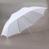 Wholesale 2015 Nylon and Aluminum in cm Photo Studio Flash Translucent White Soft Umbrella