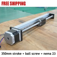 Wholesale new china cnc linear guide rail price with nema stepper motor and mm pitch Ball Screw