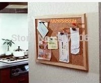 Wholesale Wooden Frame cork notice push pin boards office supplier cm factory direct sell home decorative