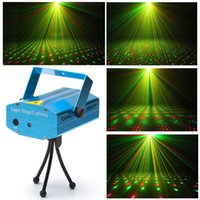 Wholesale Christmas party Projector DJ Laser disco lighting stage lighting show R Mini G
