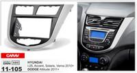 accent trim - CARAV Top Quality Radio Fascia for HYUNDAI i Accent DODGE Attitude Stereo Fascia Dash CD Trim Installation Kit