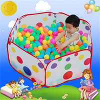 Wholesale TS Brief New cm Kid Portable Outdoor Indoor Fun Play Toy Tent House Playhut Hut Ball Pool ST