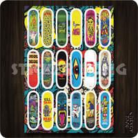 Wholesale THE PATTERN OF SKATEBOARD STICKER bike skateboard deck notebook laptop car wall sticker bomb