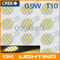 track order - 10PCS DC12V T10 W5W SMD Warm White RV Landscaping LED Light Lamp Bulb parking car styling order lt no tracking