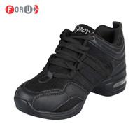 Wholesale New Dance shoes women Jazz Hip Hop Shoes salsa sneakers for woman size big size dance shoes
