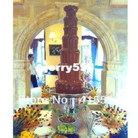 Wholesale 135CM Tier Biggest Chocolate Fountain For wedding Pump System