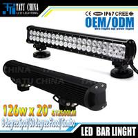 bar spot lights - LED bar light WLED Work offroad Light spot flood Beam fog driving bar WD X4 ATV Truck