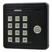 Wholesale Waterproof KHz RFID ID Card Reader Password Keypad Door Access Control Kit Free Key Chain KS159