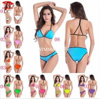 beauty back packs - Newest sexy Beauty back pack swimwear Women Push Up Criss Cross Strap Swimsuit Lace Up Monokini Swimwear Bodysuit