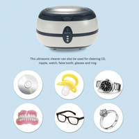 ac watches - Professional Glasses Watch Jewelry Cleaning Machine Household Cleanning Tools AC V V Household Ultrasonic Cleaner W2304
