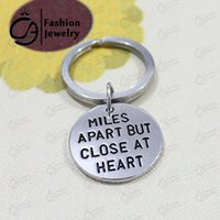 apart jewelry - MILES APART BUT CLOSE AT HEART Key Chains Christmas Gift Jewelry LN1158 K