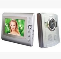 Wholesale 7 Inch IR Night Vision Wired Video Door Phone Access Control System Intercom