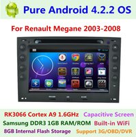 renault megane 2 - Pure Android Car DVD for Renault Megane II Capacitive Dual Core GHz GB RAM1GB ROM G WIFI Radio GPS Navigation