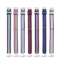 Wholesale Daniel Wellington Variety of fashion watches leather strap nylon watch DW mm for women gift box