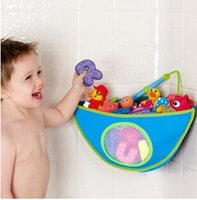 Wholesale Waterproof Kids Baby Bath Bathroom Toy Socks Towel Hanging Storage Bag Organizer Holder Receive Bags