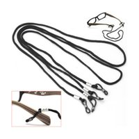 Wholesale New Useful Black Glasses Strap Neck Cord Sunglasses Eyeglasses String Lanyard Holder Exercise Essential