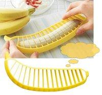 banana vegetable - Banana Slicer Cutter Chopper Fruit Salad Cucumber Vegetable Peeler Kitchen Tool