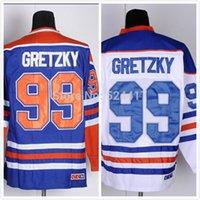 Wholesale Men s Wayne Gretzky Jersey Gretzky Hockey Jersey Best Stitched Ice HockeyJerseys