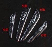 Wholesale Wrc carbon fiber open the door bumper strips fox decoration article crash bar