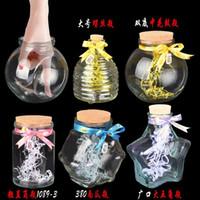 Wholesale Taidian glass bottle cork lucky stars bottle bottles sealed glass bottles a bottle storage jar