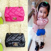 Wholesale 14 Colors Fashion New Children s PU Leather Bags Girl s Mini Purses Kid s Bag Kids Small Designer Shoulde Bags Women Mini Bag B145