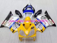Wholesale JDMOTOR injection fairing kits for Honda CBR600 F4i CBR600 CBR600 F4i fairings yellow blue white blue