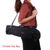 Wholesale Professional Trumpet Gig Bag Trumpet Case D Water resistant Oxford Cloth Design with Adjustable Shoulder Strap