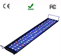 Wholesale New dhl free wifi controller led aquarium led light coral reef fish tank led aquarium light w m