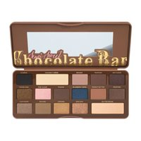 shadow boxes - Newest arrival Semi Sweet Chocolate Bar Eye Shadow Collection Palette color full size new box
